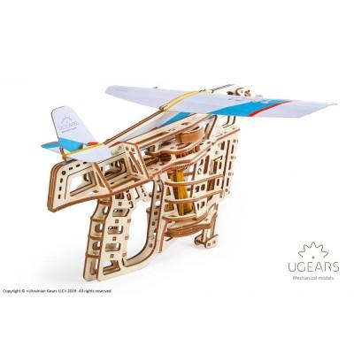 Wyrzutnia samolotów UGEARS model do składania