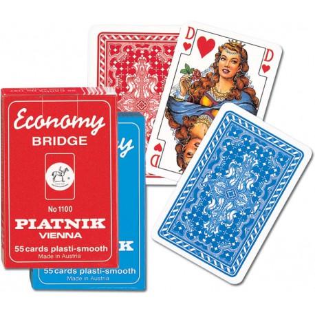 Piatnik Talia Kart Economy czerwona