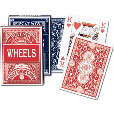 Piatnik Talia Kart Wheels czerwona