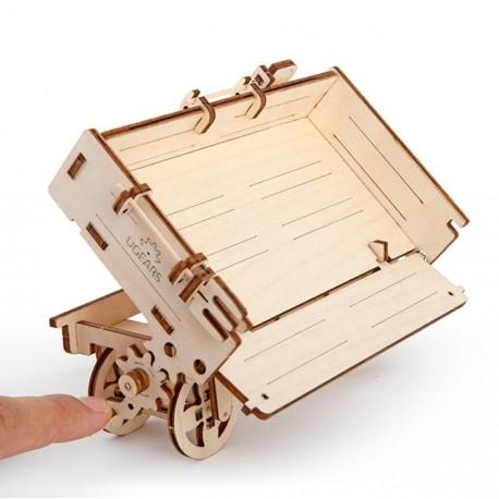 Puzzle 3D Przyczepka do traktora UGEARS model do składania