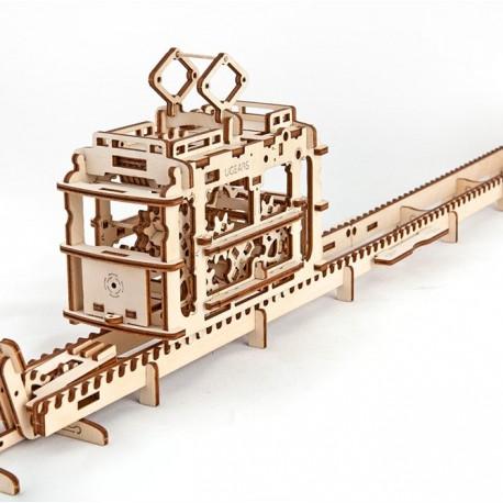Puzzle 3D Tramwaj UGEARS model do składania