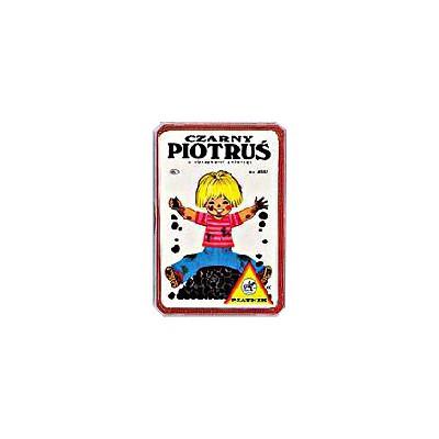 Piatnik Czarny Piotruś z obrazkami zwierząt