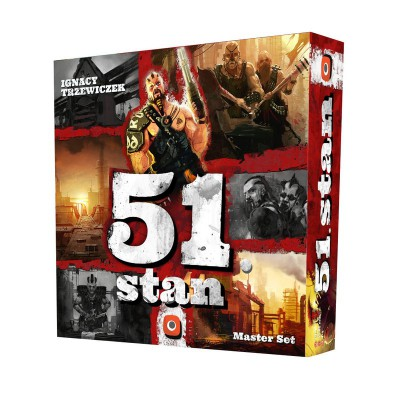 Gra 51. Stan: Master Set Portal Games