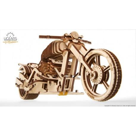 Puzzle 3D Motocykl VM-02 UGEARS model do składania