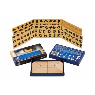 Puzzlomatic Puzzle Edukacyjne Seria F