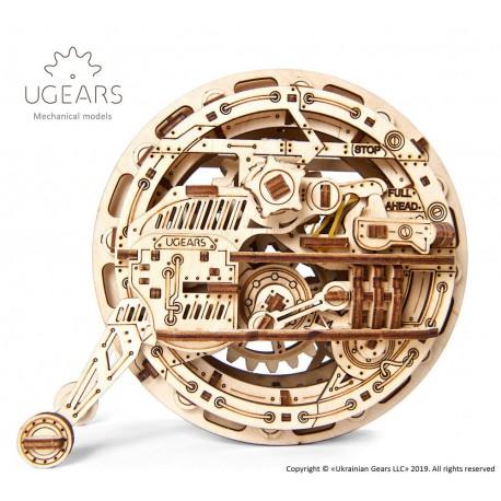 Jednokołowiec UGEARS model do składania