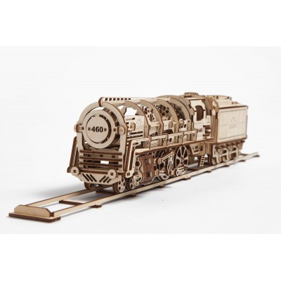 Puzzle 3D Pociąg UGEARS model do składania