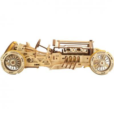 Puzzle 3D Auto U-9 Grand Prix UGEARS model do składania