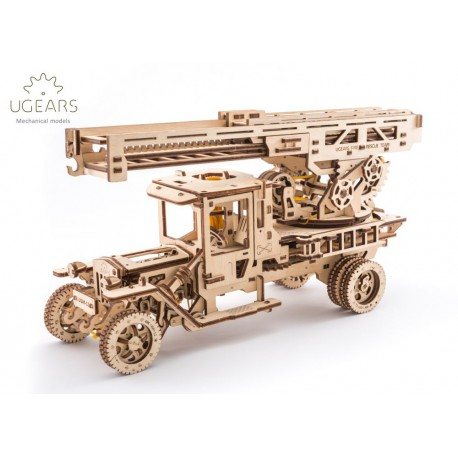Straż Pożarna Model mechaniczny do składania