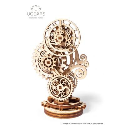 Steampunk Zegar 3D Model mechaniczny do składania