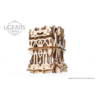 Deck box 3D model mechaniczny do składania Ugears