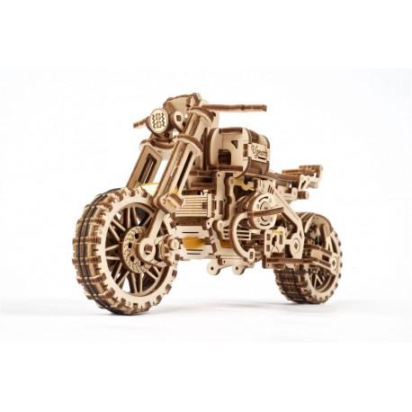 Scrambler 3D model mechaniczny do składania Ugears