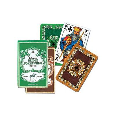 Piatnik Karty Liście Dębu Zielone