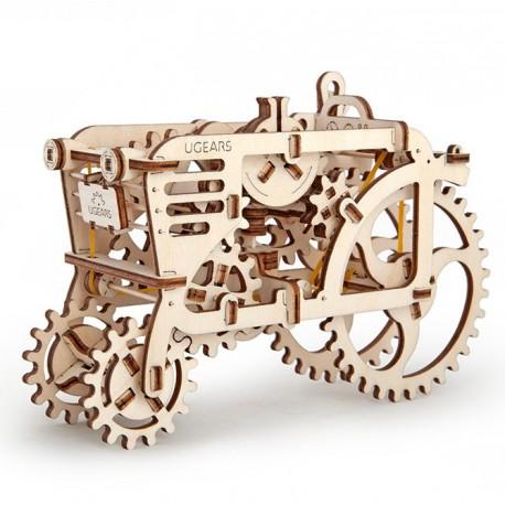 Puzzle 3D Traktor UGEARS model do składania