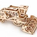 Puzzle 3D Kombajn UGEARS model do składania