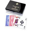 Piatnik plastikowe karty [dwie talie]