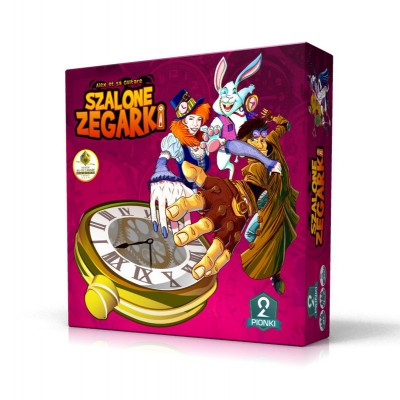 Gra Szalone Zegarki 2 pionki Portal Games