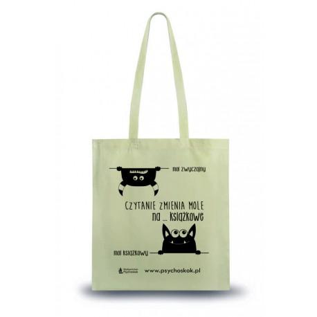 """Bawełniana torba na książki """"Mole książkowe"""""""