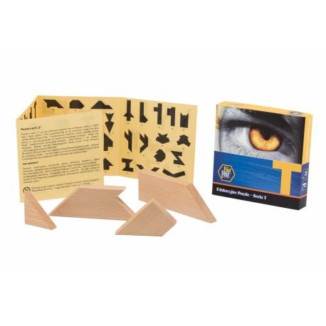 Puzzlomatic Puzzle Edukacyjne Seria T