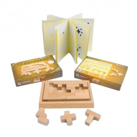 Puzzlomatic Puzzle Edukacyjne Pentomino