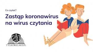Zastąp koronawirus na wirus czytania